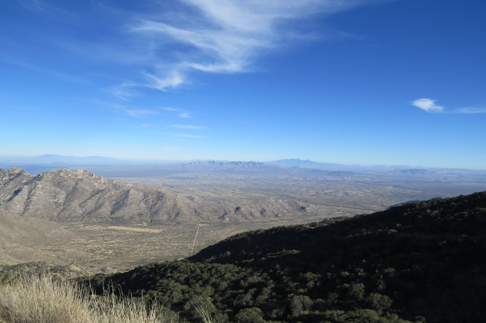 The azure sky over the Sonoran Desert.  Everyone must be as quiet as possible during their visit due to astronomers sleeping throughout the day.  Kitt Peak houses over 25 telescopes.