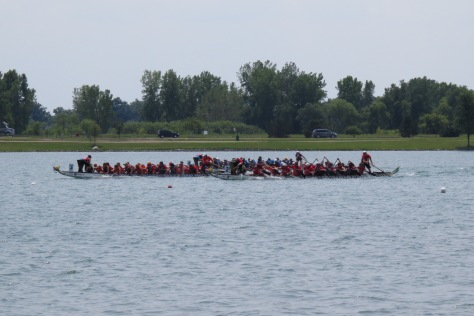 The Pan Am Dragon Boat Festival hosts an amazing event. With their professional staff, well-organized system and adhering to their rules / guidelines, the Dragon Boat Festival is truly a wonderful event to participate in and / or attend as a spectator.