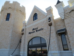 The Mars Cheese Castle is located at I-94 and State 142. Due to its location right off the highway, many travelers along the interstate stop to fill their cheese orders and get their fix of all things cheese.
