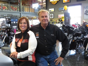 Keith and Nanc Ulicki. Uke's sponsors the Harley Owners Group (H.O.G.) Chapter that organizes rides throughout Northern Illinois and Southern Wisconsin during the riding season.